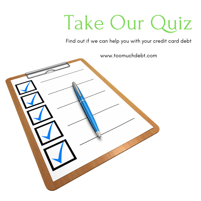 take our quiz, get help with debt