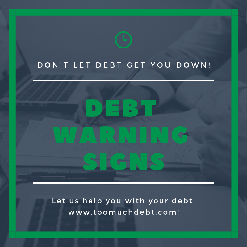 debt warning signs